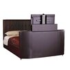 All Home Ravel Upholstered TV Bed