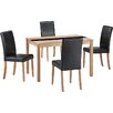 All Home Ashleigh Dining Table and 4 Chairs
