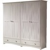 All Home Paisley 4 Door Wardrobe