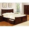 All Home Gabbin Storage Bed Frame