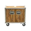 SIT Möbel 66 cm Wandmontierter Waschtisch Roadies