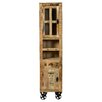 SIT Möbel Rustic Free Standing Tall Bathroom Cabinet