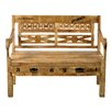 SIT Möbel Rustic Wood Bench