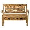 SIT Möbel Küchenbank Rustic mit Stauraum aus Holz