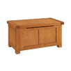 Homestead Living Flutet Wooden Blanket Box