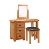 Flutet 3 Drawer Dressing Table Set