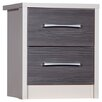 Homestead Living Hewets 2 Drawer Bedside Table