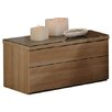 Homestead Living Leeva 2 Drawer Bedside Table