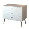 Homestead Living Paros 3 Drawer Chest of Drawers