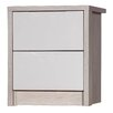 Homestead Living Avola 2 Drawer Bedside Table