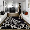 Homestead Living Hand-Tufted Black Area Rug
