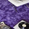Homestead Living Wool and Silk Hand-Tufted Purple Area Rug