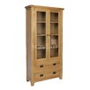 Homestead Living Inisraher Solid Oak Display Cabinet