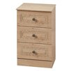 Homestead Living Inishbeg 3 Drawer Bedside Table