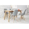 Homestead Living Frances Dining Table and 4 Chairs