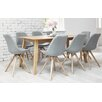 Homestead Living Frances Dining Table and 8 Chairs