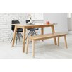 Homestead Living Dining Table and 2 Chairs and Bench