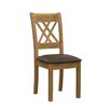 Homestead Living Grant Solid Oak Upholstered Dining Chair