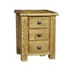 Homestead Living York 3 Drawer Bedside Table