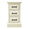 Homestead Living 3 Drawer Bedside Table