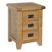 Homestead Living Inisraher 3 Drawer Bedside Table