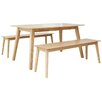 Homestead Living Manor Barton Dining Table and 2 Benches
