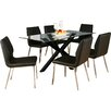 Homestead Living Lola Dining Table and 6 Chairs