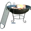 Homestead Living Phoenix Steel Wood Fire Pit