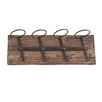 Home Etc 4 Bottle Wall Mounted Wine Rack