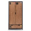Home Etc Alex 2 Door Wardrobe