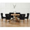 Home Etc Ohio Dining Table and 6 Chairs