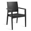 Home Etc Venice Stacking Dining Arm Chair (Set of 2)
