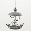 Home Etc Hanging Bird Feeder in Grey