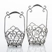 Home Etc 2-Piece Metal Basket Set