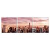 Home Etc YoungOnes NewYork Skyline 3 Piece Photographic Print Set