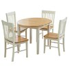 Home Etc Nolsoy Extendable Dining Table and 4 Chairs