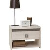 Home Etc Dinkel 1 Drawer Bedside Table
