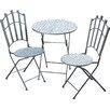 Home Etc 3-tlg. Stühle-Tisch-Set Nina