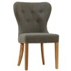 Home Etc Clematis Solid Oak Upholstered Dining Chair (Set of 2)
