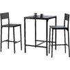 Home Etc Hall 3 Piece Bar Table Set