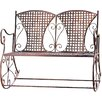 Home Etc Rocking Yvette 2 Seater Iron Bench