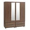 Home Etc Diosa 4 Door Wardrobe