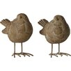 Home Etc 2 Piece Little Birds Garden Statue Set (Set of 2)