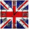 House Additions Wanduhr Union Jack