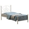 House Additions Alva Wrought Iron Bed