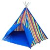 House Additions Multi Stripe Wigwam Play Teepee