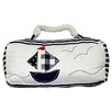 House Additions Nautical Fabric Wall Fixed Door Stop