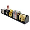 House Additions Media and Book Accent Shelf