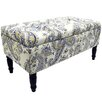 House Additions Storage Flowers Footstool