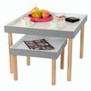 House Additions 2 Piece Tray Side Table Set
